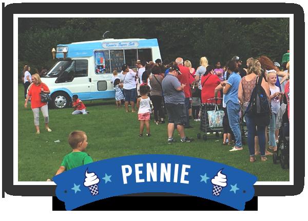 Hire Pennie the Ice Cream Van
